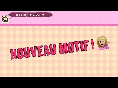 Motif Acnl Qr Code Sol Brique Et Eau Youtube