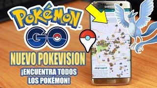 Nuevo Pokevision en TIEMPO REAL POKEMON GO | Tu Android Personal