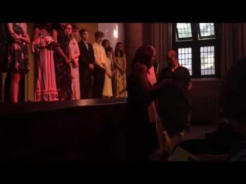 Rhys's 8th Grade Graduation Song and final verse at Detroit Waldorf School