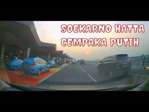 DRIVING DOWNTOWN SOEKARNO HATTA AIRPORT - CEMPAKA PUTIH JAKARTA