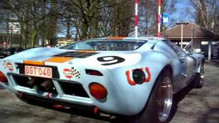 The legendary Ford GT40 (awesome sound)