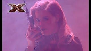 Ксюша Попова - Sam Brown - Stop – Х-Фактор 8. Первый прямой эфир