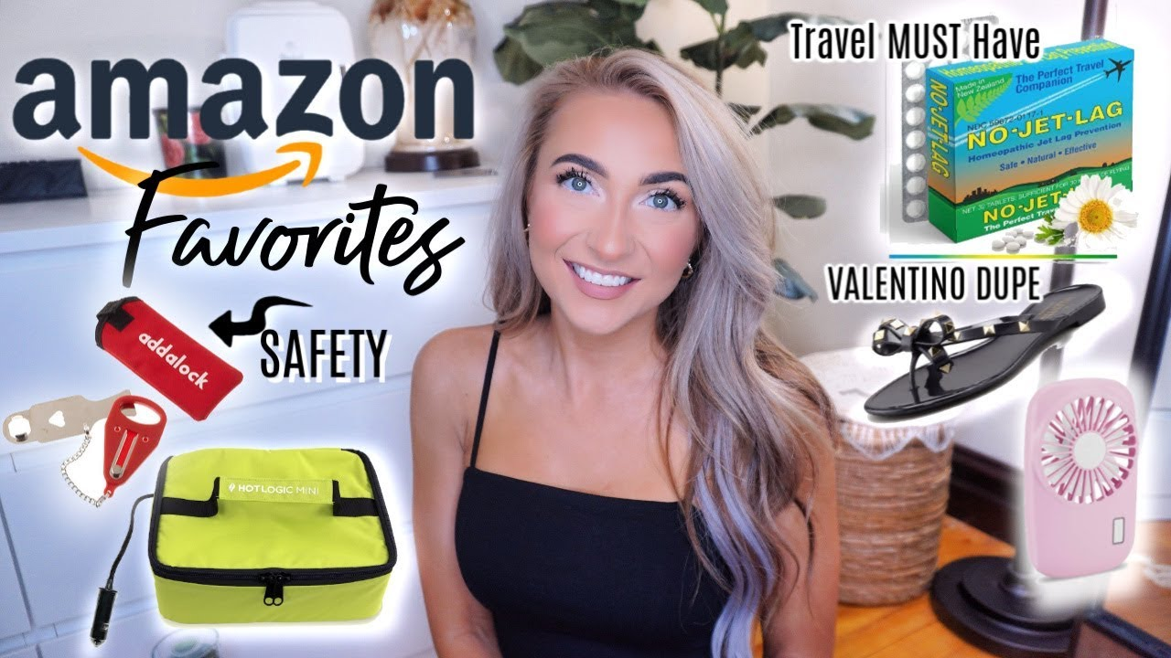 AMAZON FAVORITES | TRAVEL, TECH, LIFESTYLE, BEAUTY!