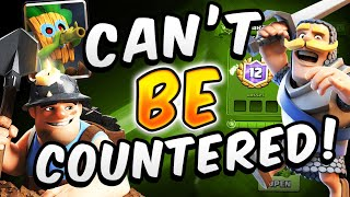 #1 NEW META MINER CONTROL! DIRTY 12 WIN DECK  — Clash Royale