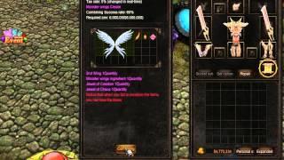 Como Crear Wings 2.5 en Mu Online
