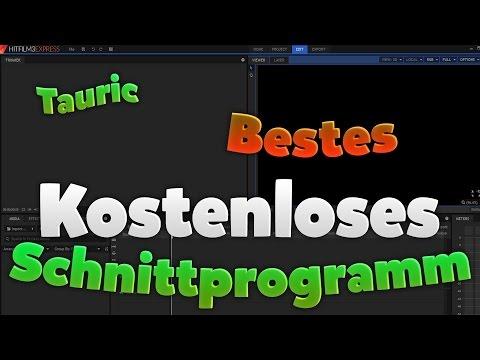 BESTES KOSTENLOSES SCHNITTPROGRAMM - Tauric