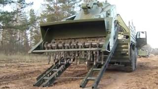 Uran-6 Uran-14 robotic mine clearing firefighting UGV unmanned ground vehicle demining system Russia