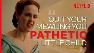 Nurse Ratched's Most Savage Lines | Netflix