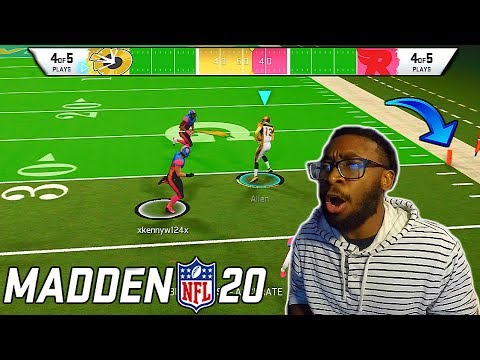 THEY MADE THE END ZONES START MOVING! Madden 20 Superstar KO Gameplay