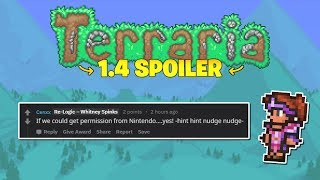 Terraria 1.4 adds Flamingo Mounts, Texture Packs and Potential Nintendo Crossover?