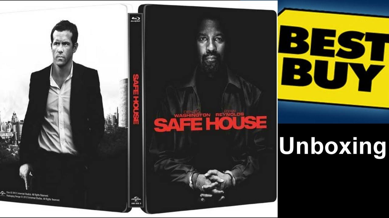 Download Safe House - Best Buy Exclusive Blu-ray/DVD Steelbook Unboxing (2012)
