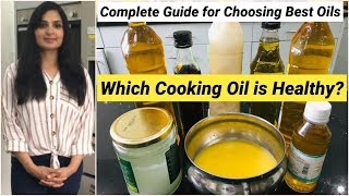Which oil is safe and healthy for deep frying, sauteing, pan-frying, tempering, stir frying salad dressing? this video explains it all, it's a complete g...