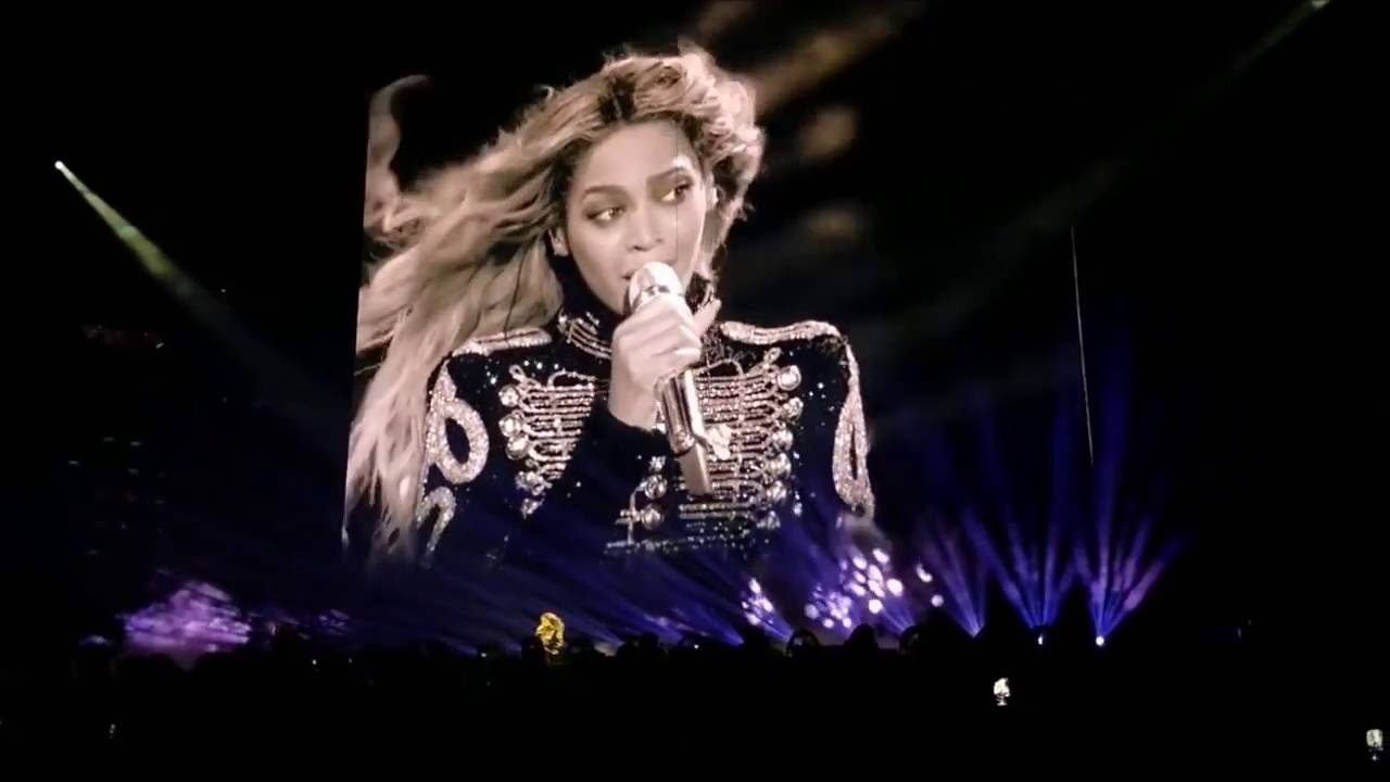 Beyoncé Beautiful Ones Prince Tribute Live Formation World Tour