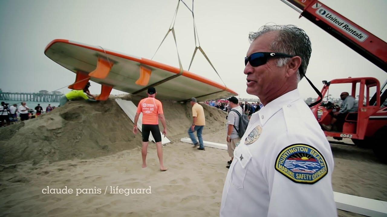 World S Largest Surfboard Breaks Record