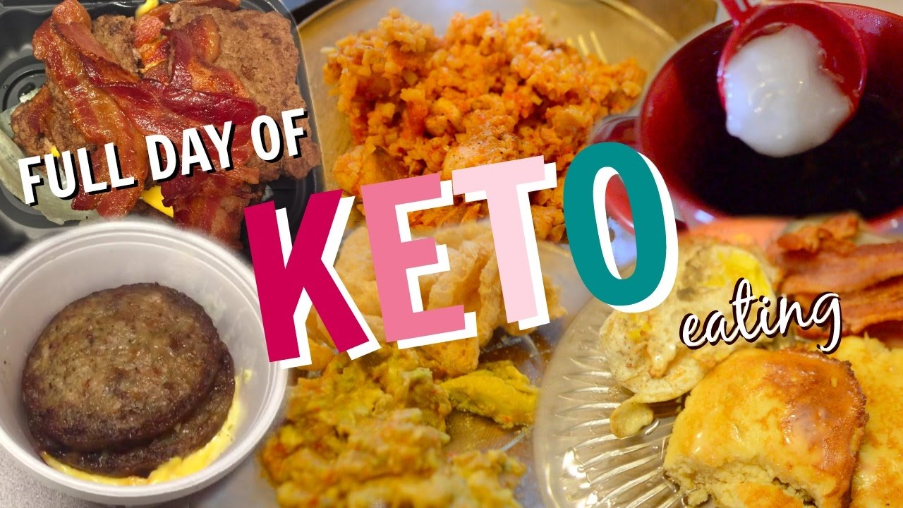 Full Day of Eating Keto | Ketogenic Diet Progress | Low Carb Diet [2] - YouTube