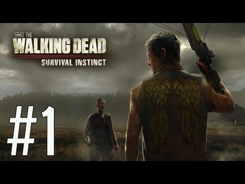 The Walking Dead Ep.1 Прохождение Брейна - #1