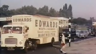 "Part 1: 1950's BTF ""Ferry Load"" ~ BRS Transport Tilbury-Antwerp & Preston-Larne ~ Pickfords"