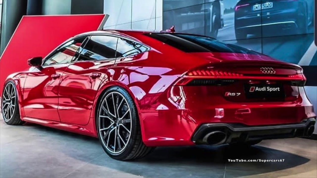 2020 Exclusive New Audi Rs7 Sportback In Red