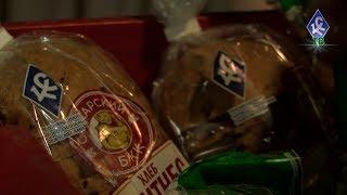 """Новый фитнес-хлеб от Самарского БКК и """"Крыльев Советов"""""""