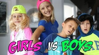 Play-date GIRLS vs BOYS