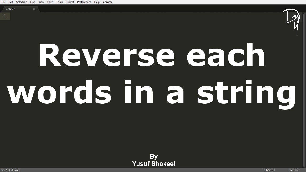 08 c reverse each words in a string youtube biocorpaavc Images
