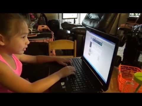 Amanda Learning To Type