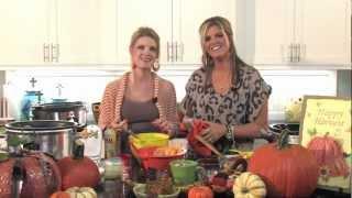 Crockin' Girls Pumpkin Bread, Cinnamon Rolls And Pumpkin Spice Latte
