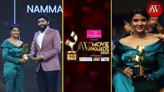 Best Actress Critic-Aishwarya Rajesh|Namma Veetu Pillai|Vikram Prabhu|Jfw movie Awards 2020