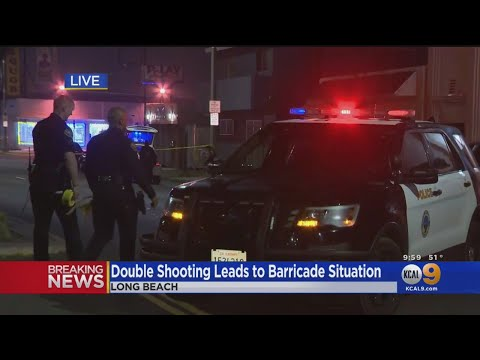 Double Shooting Leads To Barricade Situation In Long Beach, Suspects In Custody