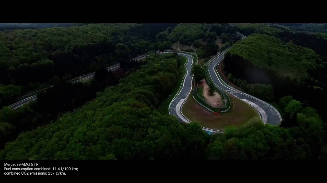 Mercedes Amg Gt R >> Beast of the Green Hell: The Mercedes-AMG GT R - YouTube
