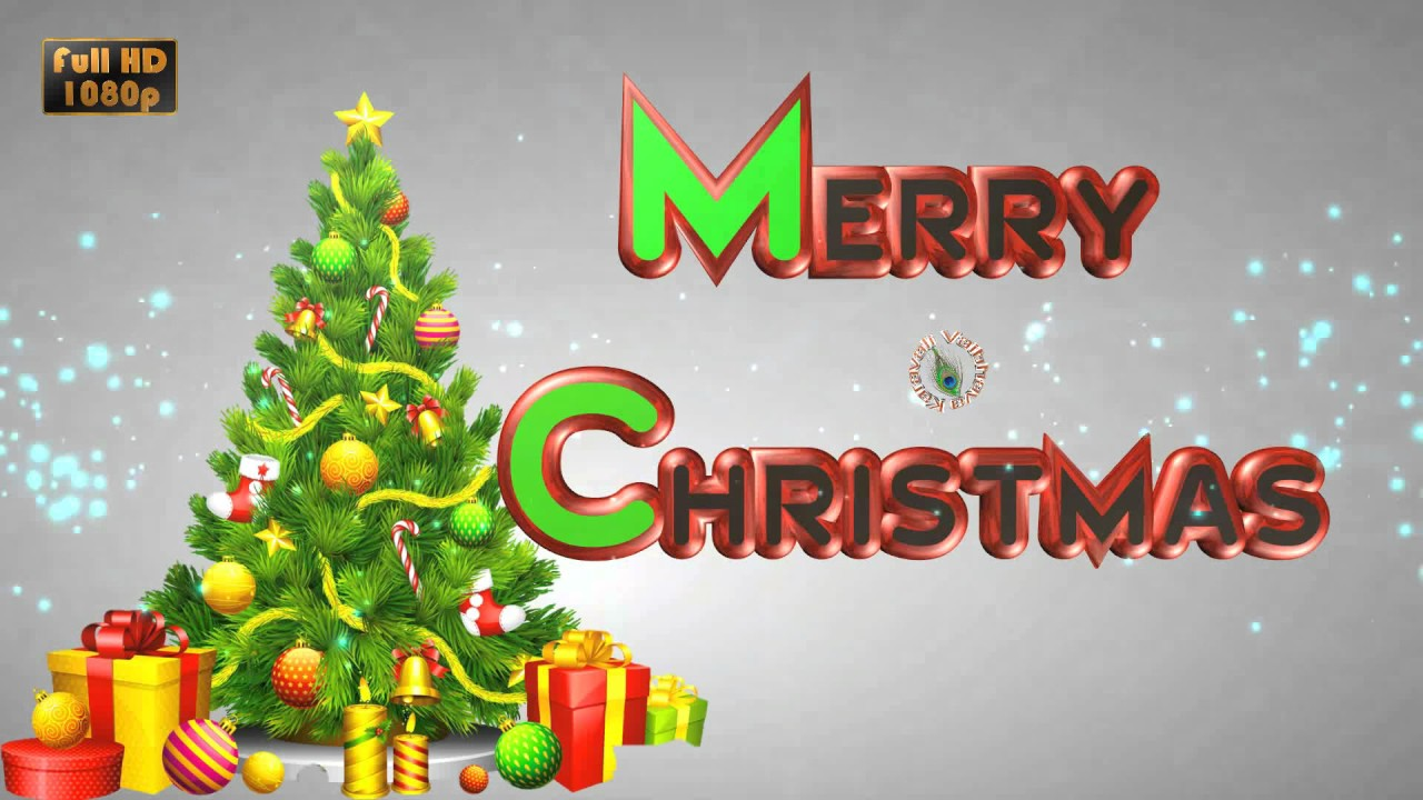 Animated Christmas Greetings, Fantabulous Merry Xmas Video Free Download