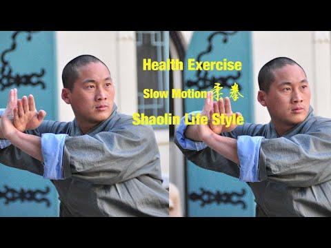 Shaolin Style Qi Gong Training with Master Shi Yanxu