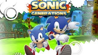 Sonic Generations Full Game Walkthrough No Commentary (Longplay)