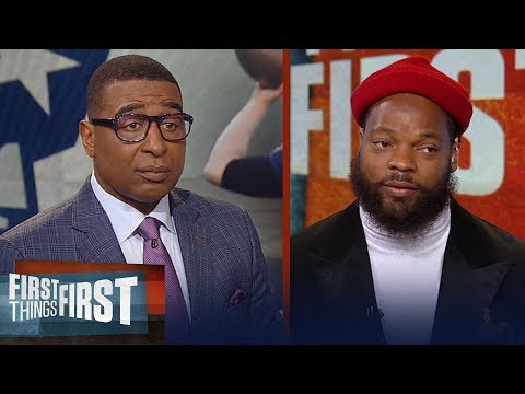 Michael Bennett talks Patriots and Belichick & Steelers 'cleaning house'   NFL   FIRST THINGS FIRST