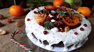 Английский Рождественский Кекс на темном пиве. Рождественский Кекс Рецепт.
