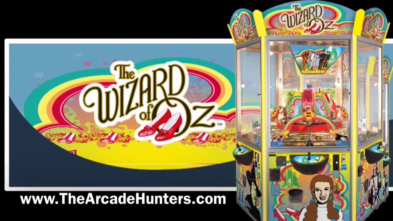 Arcade Hunters: The Wizard of Oz Coin Pusher Review