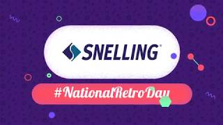 Happy National Retro Day from Snelling