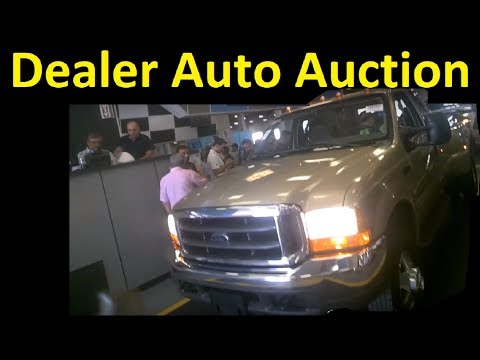 Wholesale Truck & Car Auction Buying F350 Truck Video #3