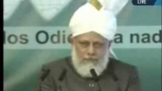 Проповедь Хазрата Мирзы Масрура Ахмада, (02-04-10) часть 6