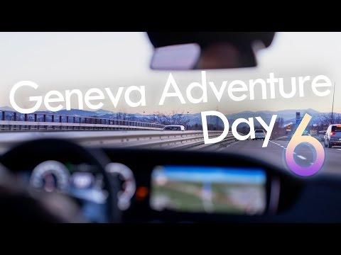 Roadtrip to Italy via Swiss Alps: Geneva VLOG #6