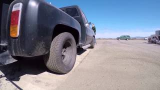 1978 Chevy Truck Linelock Burnout Testing