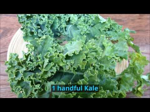 How to make a Coco Kale Smoothie Detox