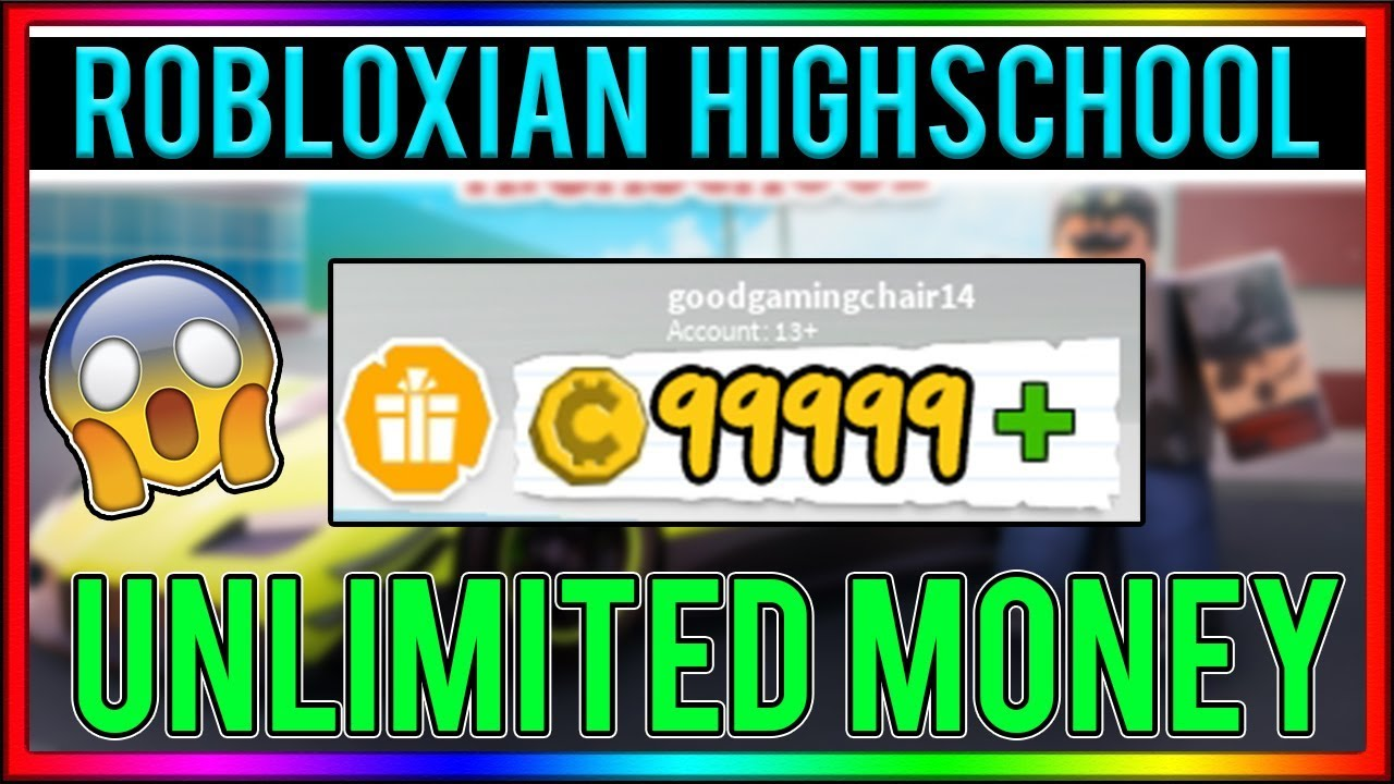 Working Roblox Hack Robloxian Highschool Unlimited Coins