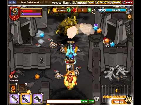 dungeon rampage ultimate rampage 100 lvl samurai