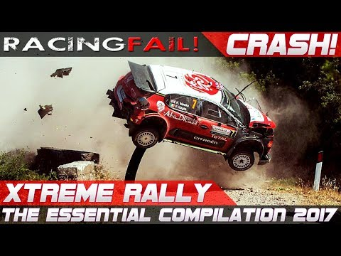 WRC RALLY CRASH EXTREME BEST OF 2017 THE ESSENTIAL COMPILATION! PURE SOUND!