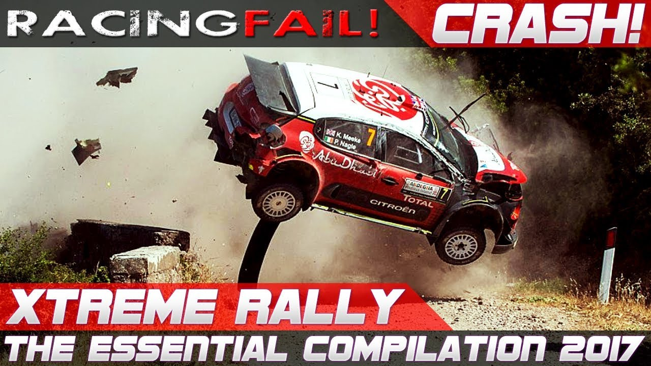 Wrc Rally Crash Extreme Best Of 2017 2018 The Essential Compilation Pure Sound