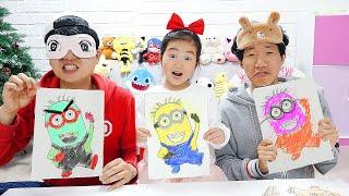 بولام والأصدقاء يرسمون الكرتون