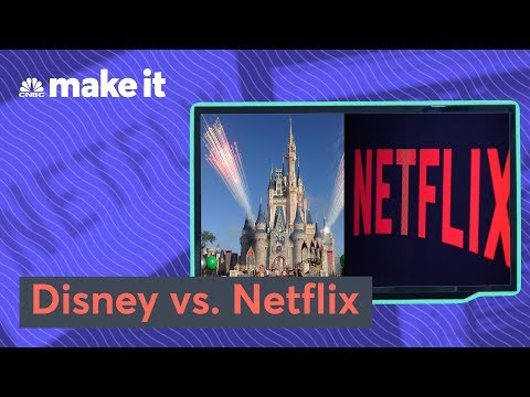 Whether Investing In Disney Or Netflix Would Have Made You Richer