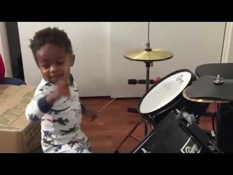 Heading- Meet LJ - 1-year old Drummer Prodigy