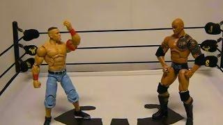 WWE John Cena vs Dwayne